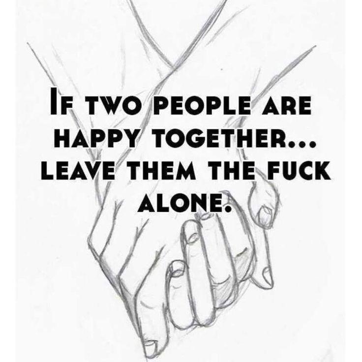 Fuck alone
