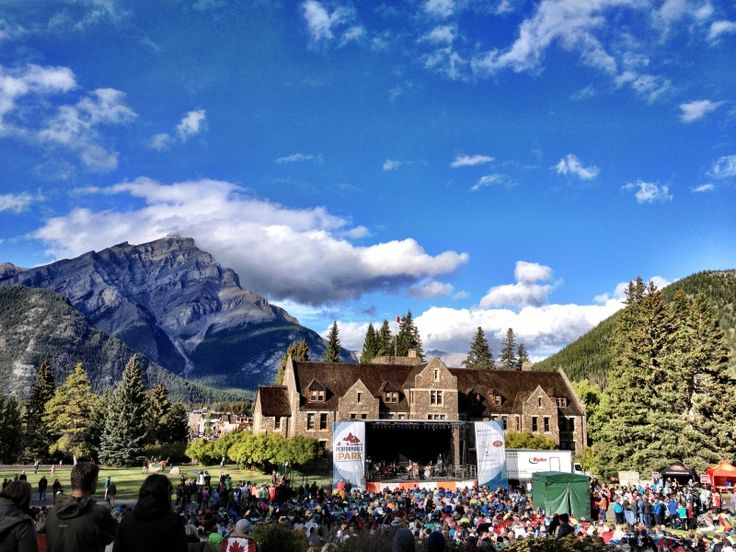 Performance In the Park takes place June 10 and 11 on the grounds of the Parks Administration Building in Banff.