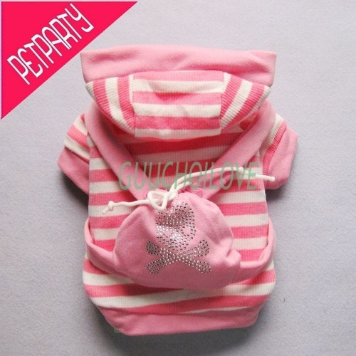 Pink Collegiate for Dog Clothes Pet Coat s Shirt Bag Hoodie Couple Suit Girl   eBay