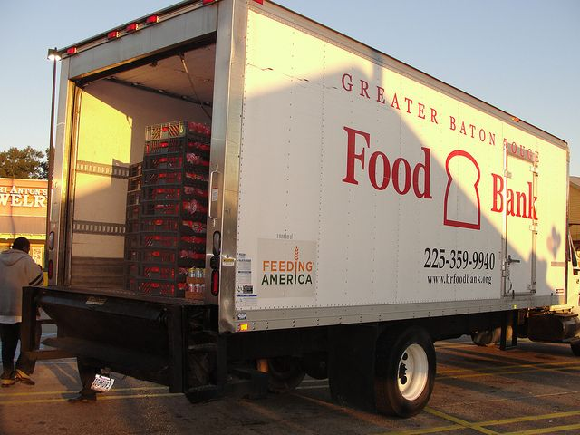 Greater Baton Rouge Food Bank by Walmart Corporate, via Flickr