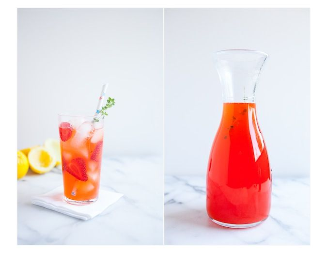 how to make strawberry syrup for drinks