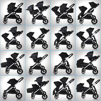 Poussette City select de Baby jogger