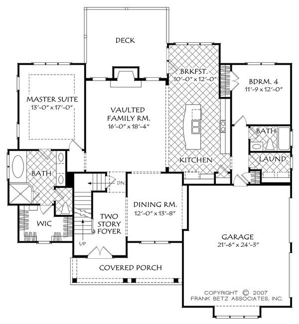 Cottage Style House Plan 4 Beds 3 Baths 2403 Sq Ft Plan 927 14 Farmhouse Style House Plans Cottage House Plans Cottage Style House Plans