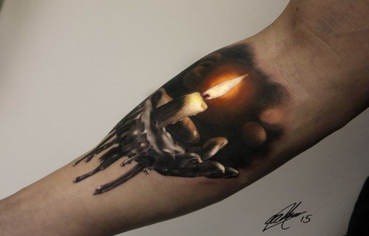 Candle Tattoo                                                                                                                                                                                 More