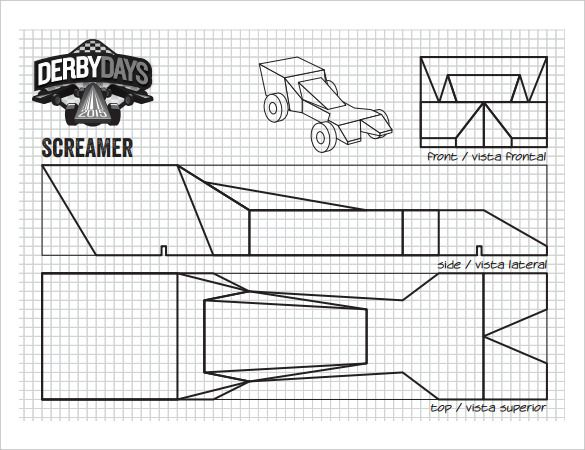 pine wood derby template - 1207 best pinewood derby cars images on pinterest