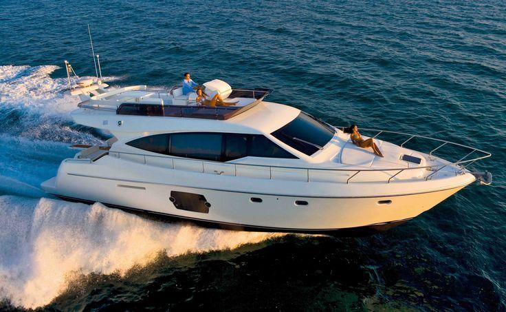 Ferretti 510 Luxe and elegance on #sicily Aeolian Islands