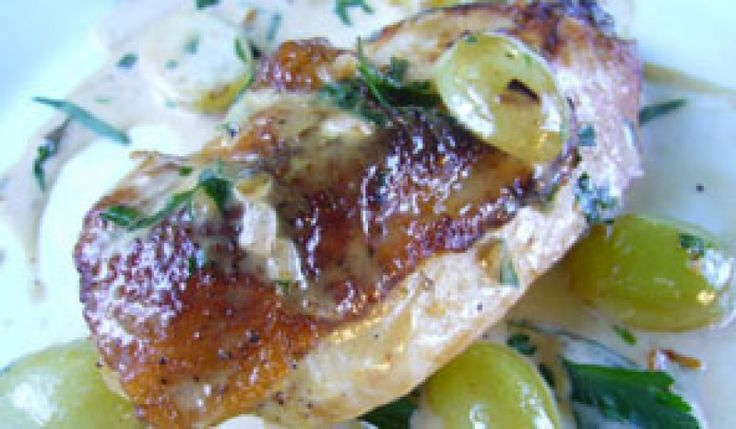 Pan-Roasted Chicken Breast With Vinegar, Mustard, And Tarragon Recipes ...