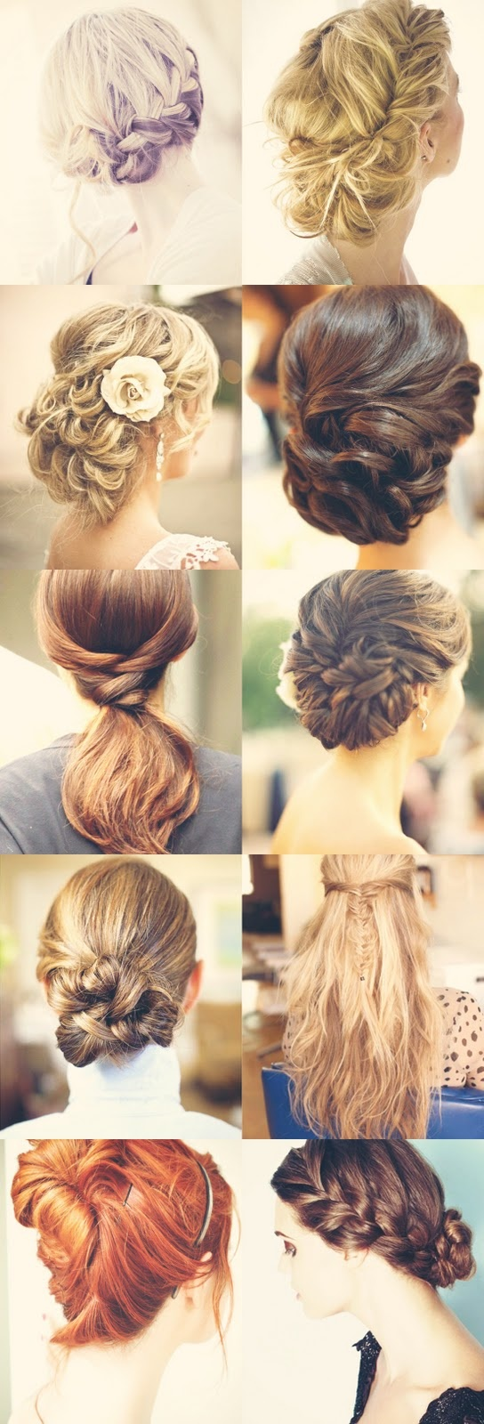 Wedding updo...too many to choose from!