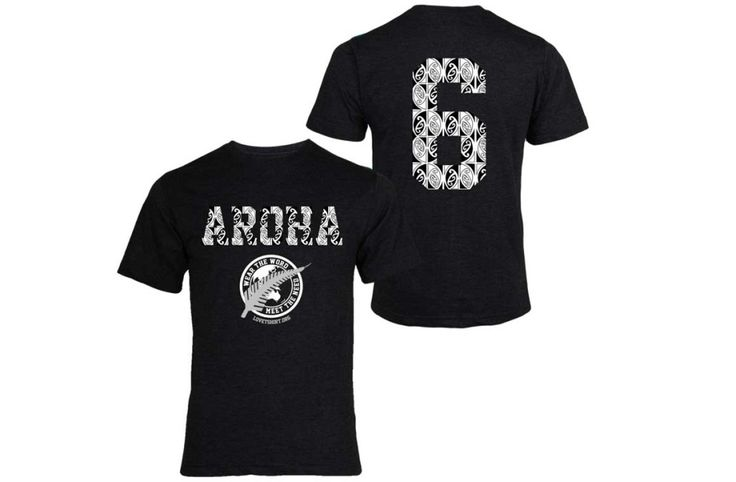 Aroha tshirt in silver at lovetshirt.org