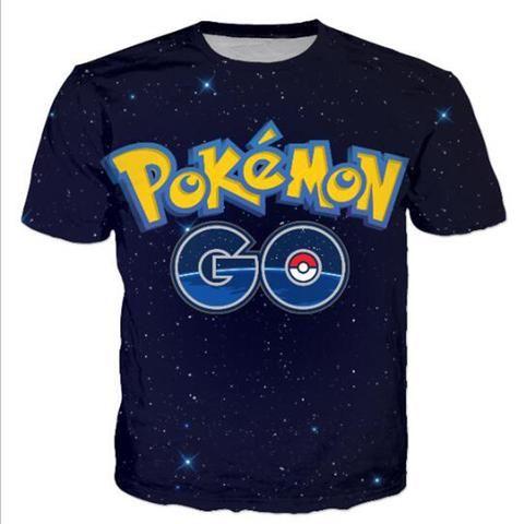 Pokemon Go T-Shirt - FREE SHIPPING !!!