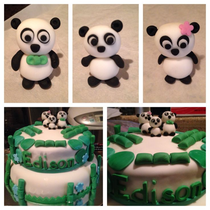 panda baby shower theme cake panda themed baby shower ideas