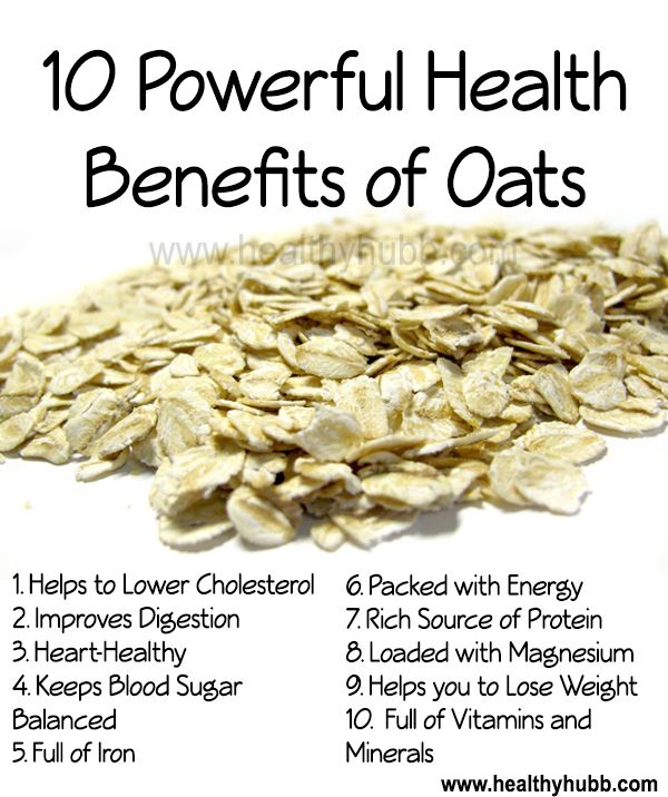 10 Powerful Health Benefits of Oats! #wellness #nutrition #healthy #food…