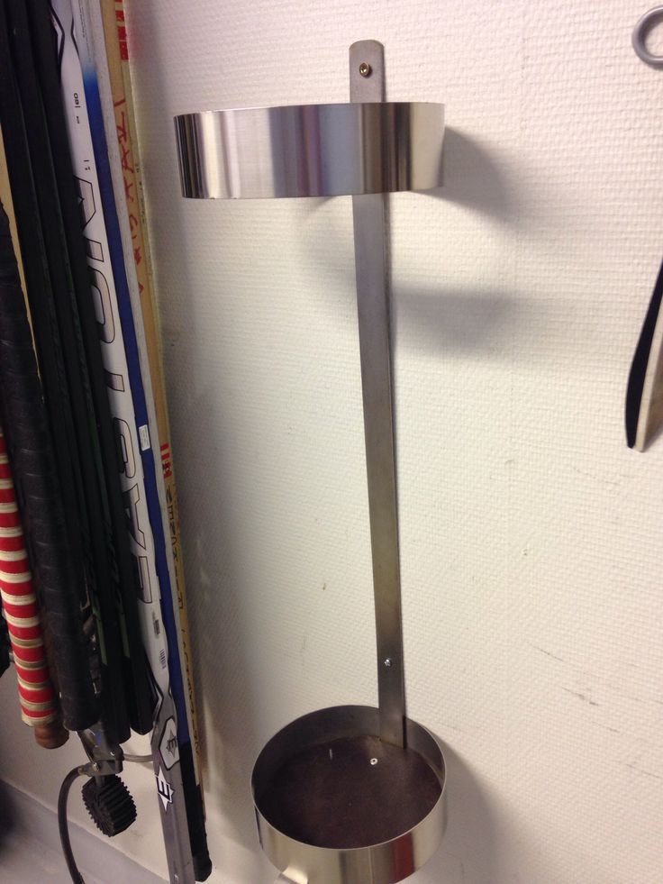 Vapateline, rst. Fishing rod stand, stainless steel.