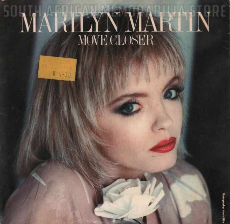 """MARILYN MARTIN - Move Closer - South African Vinyl 7"""" Pic Sleeve Single ATS1074"""