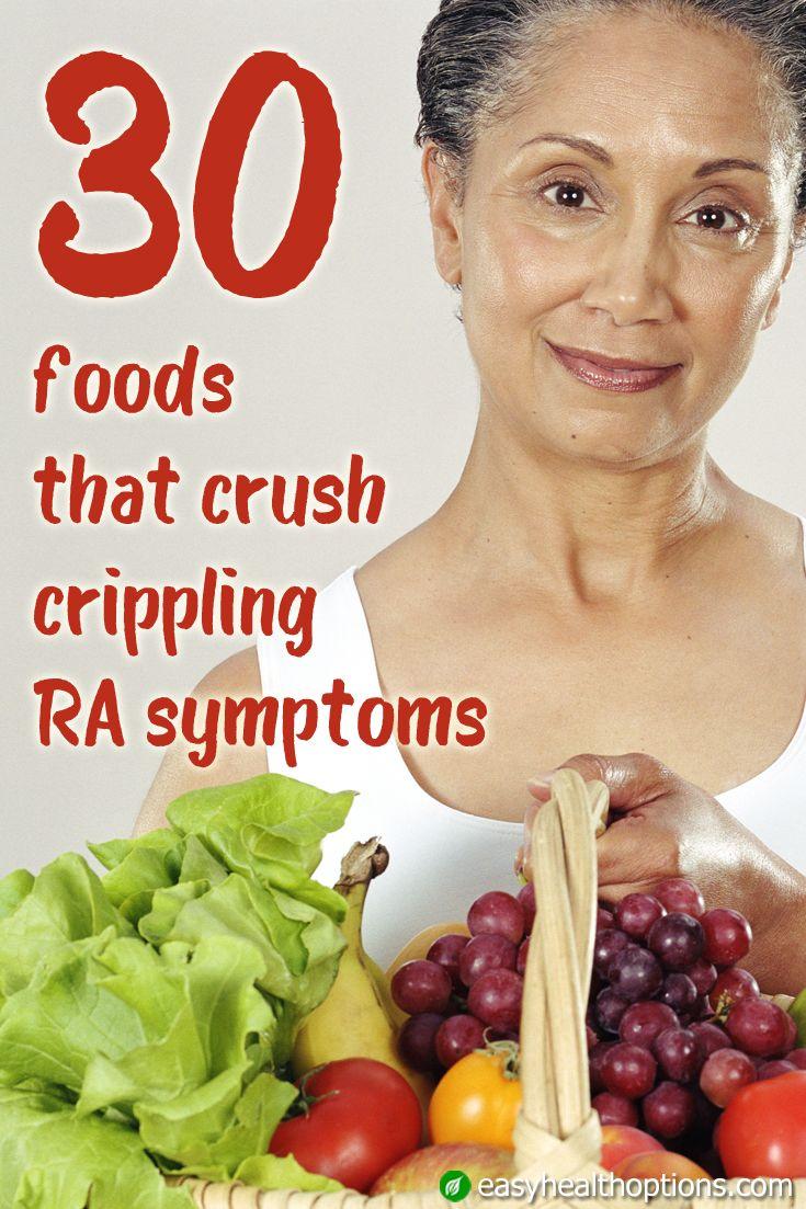 30 foods that crush crippling RA symptoms | Arthritis diet ...