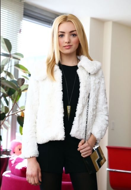 4 Genius Holiday Outfit Hacks From Peyton List   - Seventeen.com