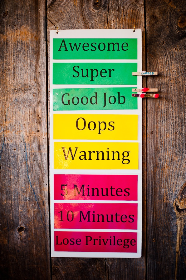 Maine Mamarazzi » Photography Blog » Behavior chart, consequences , children,