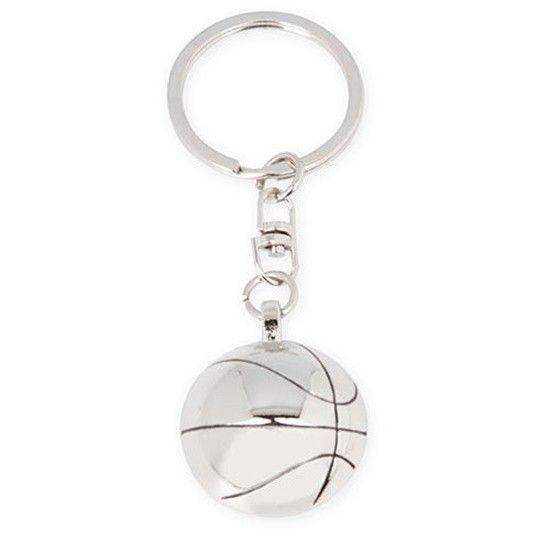 Llavero metalico balon baloncesto