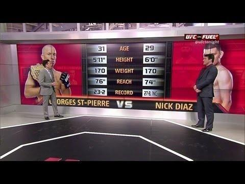 UFC 158: St-Pierre vs Diaz Predictions #UFC158 #MMA #GSP #St-Pierre #Diaz #Predictions