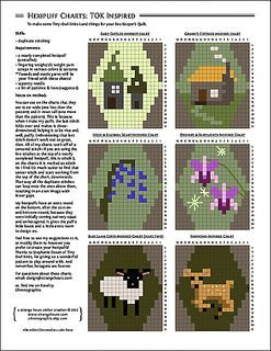 Hexipuff Charts: Tiny-Owl-Knits-Inspired