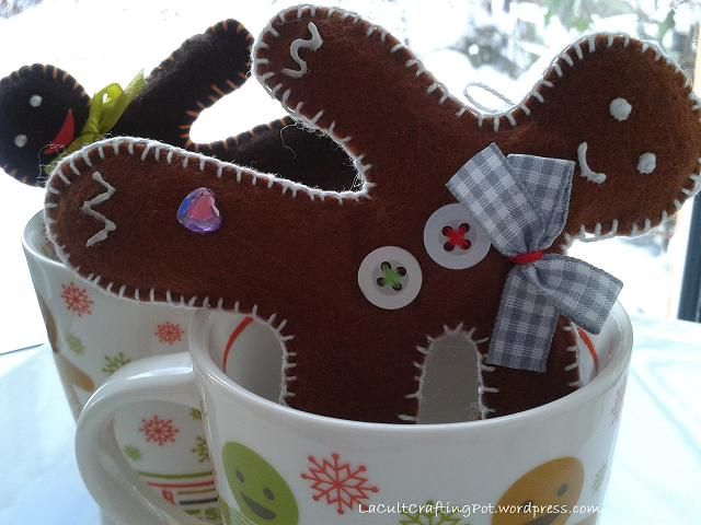 gingerbread man christmas decorations