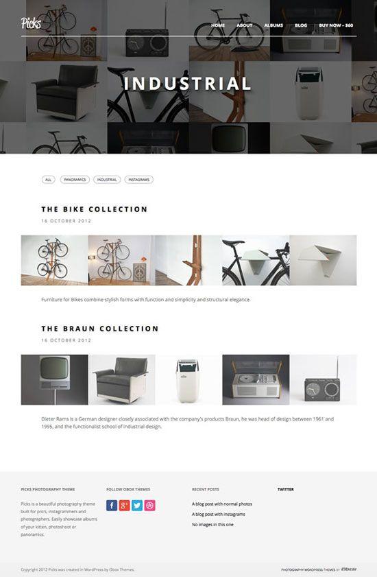 16 Beautiful Minimal Wordpress Portfolio Website Templates