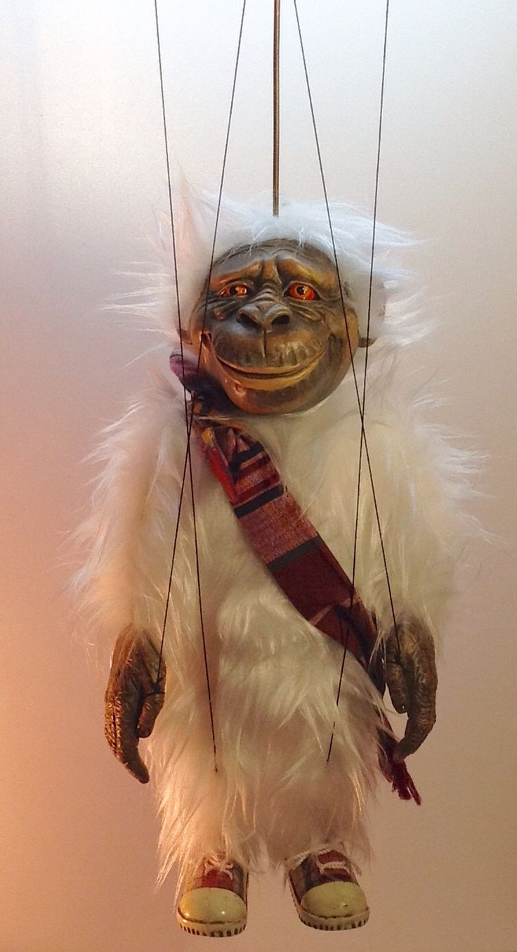 Авторская кукла-марионетка