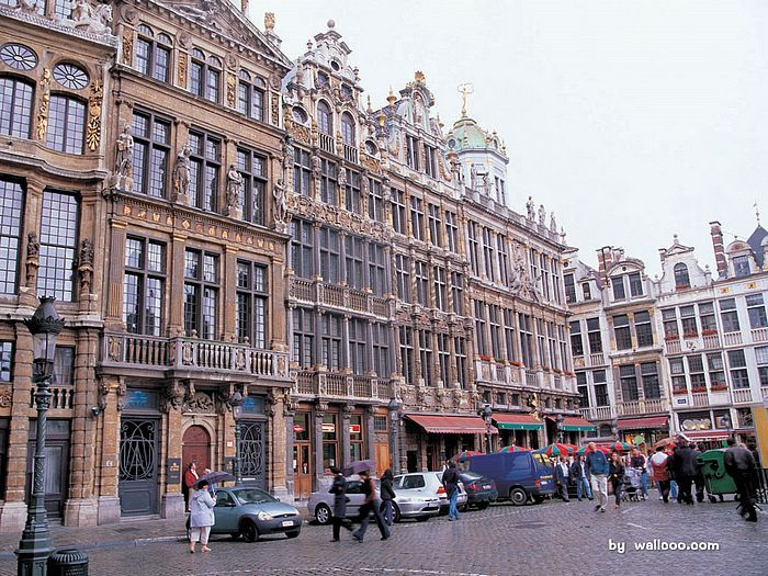 Belgium - such beautiful buildings!