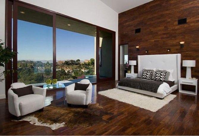 #excll #дизайнинтерьера #решения Следующий пример — это спальня Рианны в ее доме в Беверли Хиллз.  Сам дом и, непосредственно спальня, яркое доказательство тонкого вкуса владелицы.
