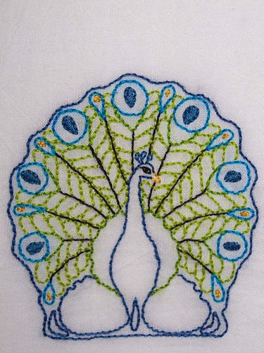 1000 Images About Peacock Needlework On Pinterest Cross
