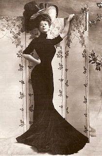 Edwardian Fashion - Camille Clifford, The Gibson Girl