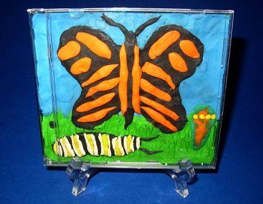 playdough art with cd case - Recherche Google