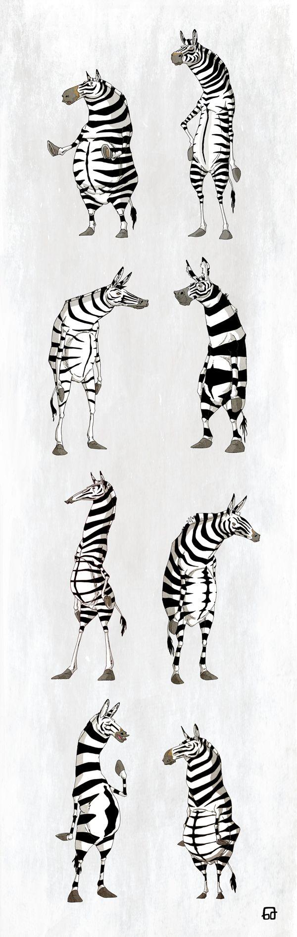 Character Design by Gorka Aranburu S., via Behance
