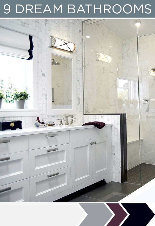 Bathroom Vanity Extended Over Toilet: 142 Best Home: Hall Bath Marble Wainscotting Images On