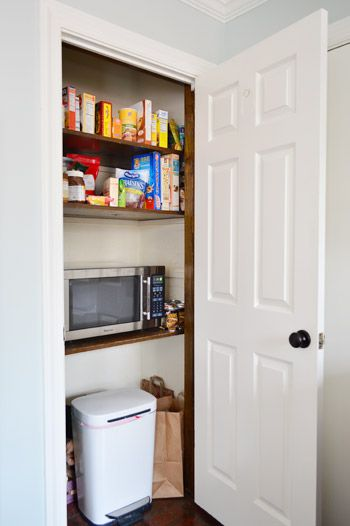 High Quality Adding Extra Shelves And A Microwave To The Pantry