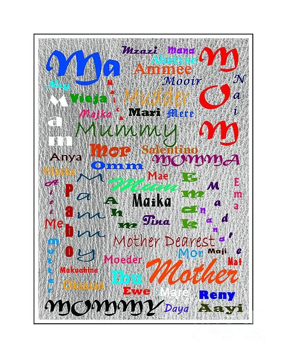 52 ways to say Mother