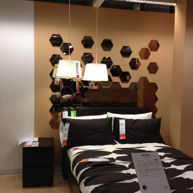 Mirror Headboard By IKEA