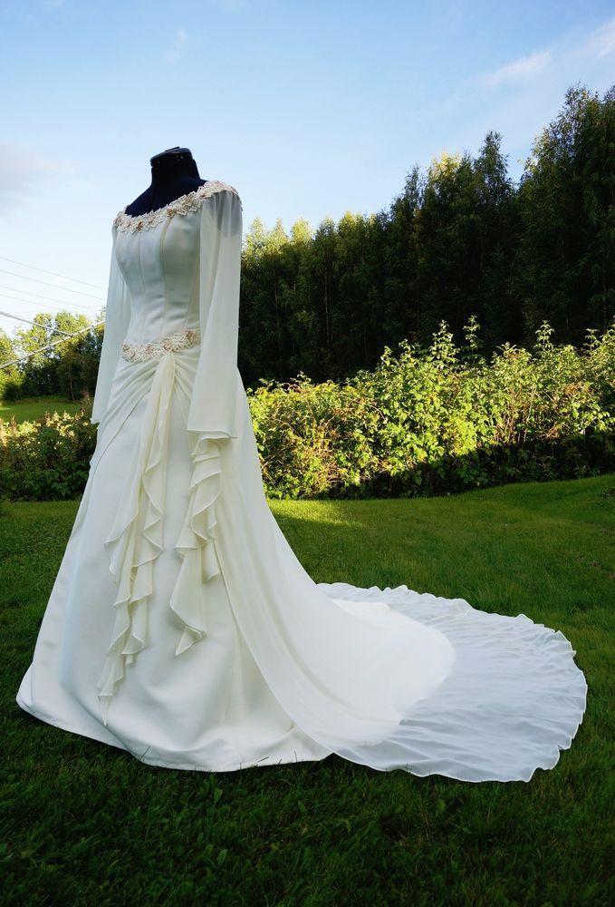 Medieval dos Elfos e vestido de noiva estilo Celta | Roupas, calçados e acessórios, Casamentos e ocasiões formais, Vestidos de noiva | eBay!