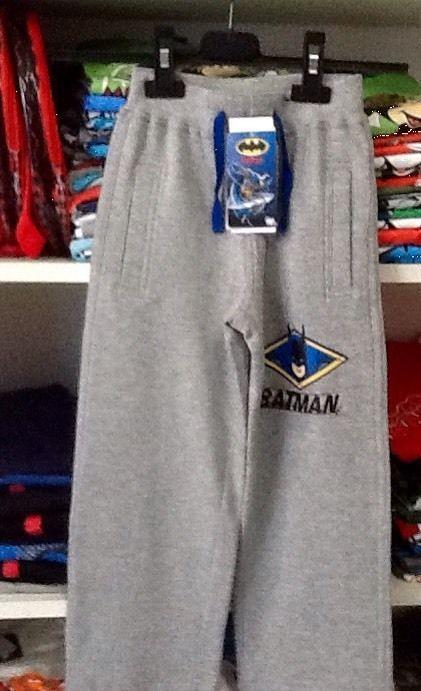 Pantalone felpato di BATMAN 10 anni idea regalo bambino
