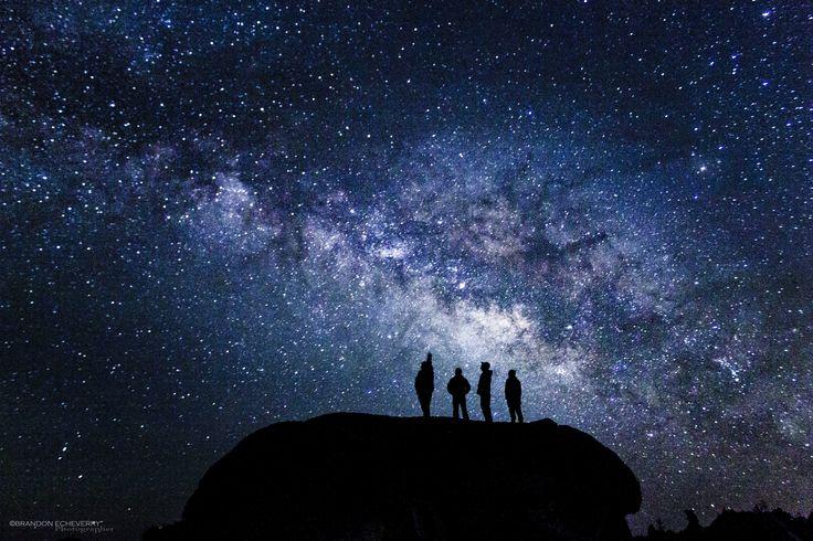 4 friends breathing stars.