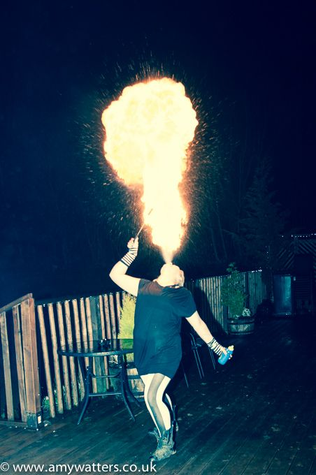 Fire Eater At A Themed Birthday Party In High Wycombe Event - Children's birthday parties high wycombe