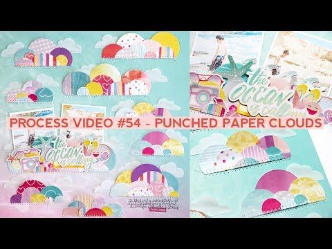 Technique Spotlight with Paige Evans: Circle Clouds - Stamp & Scrapbook EXPO