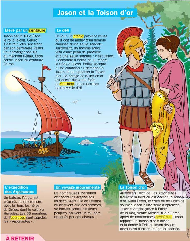 Médée, Jason et la toison d'or (Métamorphoses d'Ovide - livre 7)