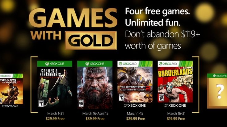 XBOX – MARCH GAMES WITH GOLD http://onlinetoughguys.com/xbox-march-games-with-gold/ … #Xbox #XboxOne #GamesWithGold