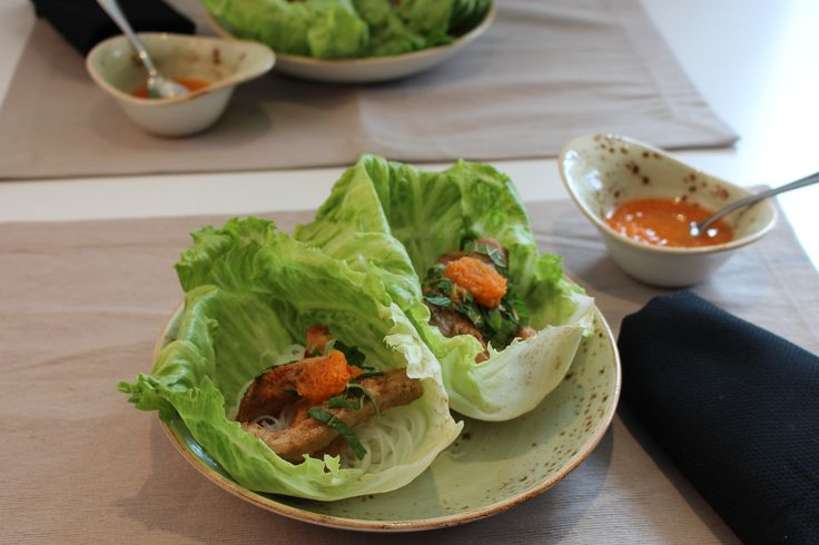 Vietnam - a beautiful land, rich with culture and history. Tonight's Vietnam inspired dish features flavourful lemongrass pork with silky vermicelli and a traditional nuoc cham sauce, all held in the loving embrace of crisp lettuce wraps. Enjoy with your favourite glass of riesling and have sweet, Southeast Asian dreams.