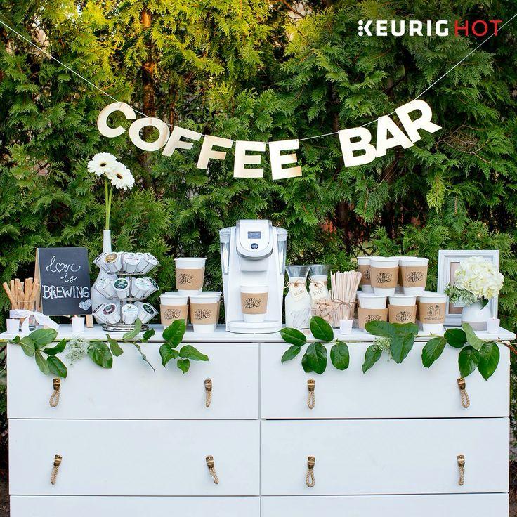 Coffee bar at a wedding! https://stlouisarch.regency.hyatt.com/en/hotel/weddings.html?src=prop_stlrs_Pinterest_Wedding
