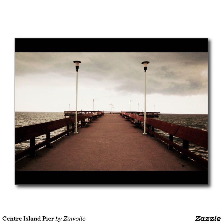 Centre Island Pier Postcard
