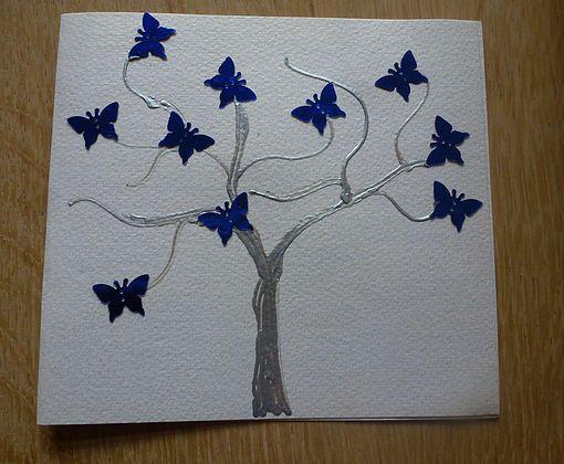Creadivas Creatips *  Card with butterfly | Tarjeta con mariposas | Vlienders kart