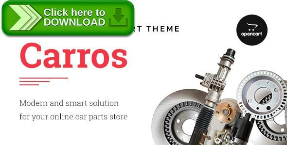 [ThemeForest]Free nulled download Carros — Car Parts OpenCart Theme from http://zippyfile.download/f.php?id=5760 Tags: auto parts shop, automotive, automotive parts, car accessories, car opencart, car parts shop, car parts store, opencart ecommerce, opencart responsive, opencart theme, parts opencart, parts retail, Parts Store, rtl, Vehicle Parts