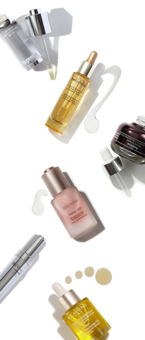Treat your skin to hydration just in time for the dropping temperatures with oils from Clarins, Sisley Paris, LaPrairie, Laura Mercier, RéVive and more. #Beauty